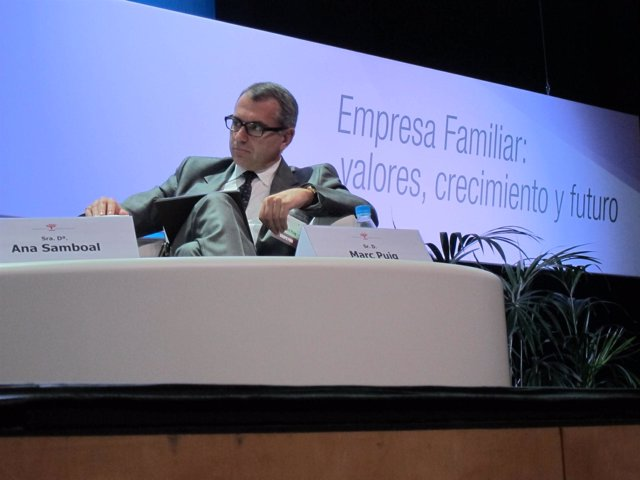 El presidente de Puig, Marc Puig