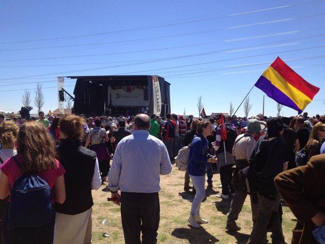 Celebración del Día de CyL en la campa de Villalar