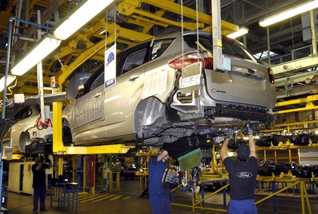 Fábrica De Ford En Almussafes