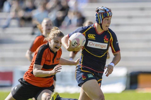 España vence a Holanda en rugby femenino