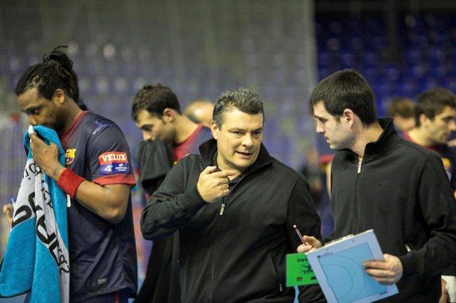 Liga ASOBAL - Jornada 12 FC Barcelona Intersport - Reale Ademar León