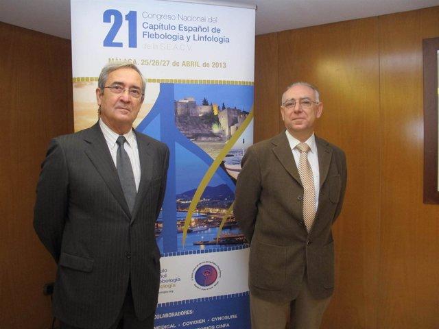 Los doctores Vicente Ibáñez y Rafael Gómez Medialdea