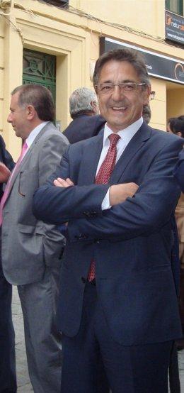 El director general de Transportes de la Junta, José Antonio Cabrejas