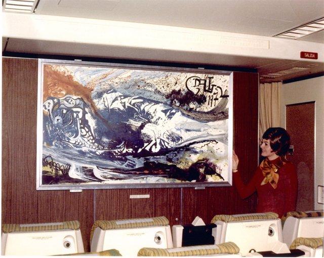 Dalí pinta para Iberia