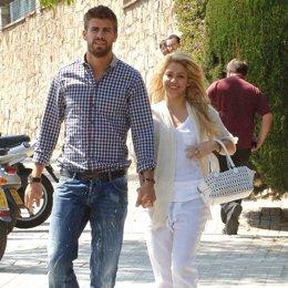 Shakira Y Gerard Piqué En Barcelona
