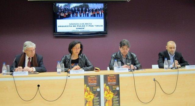 Presentación XIV Muestra de Música Plectro 'Ciudad de Valladolid'