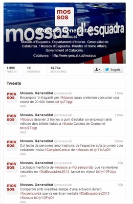 @Mossoscat Mossos D'esquadra En Twitter