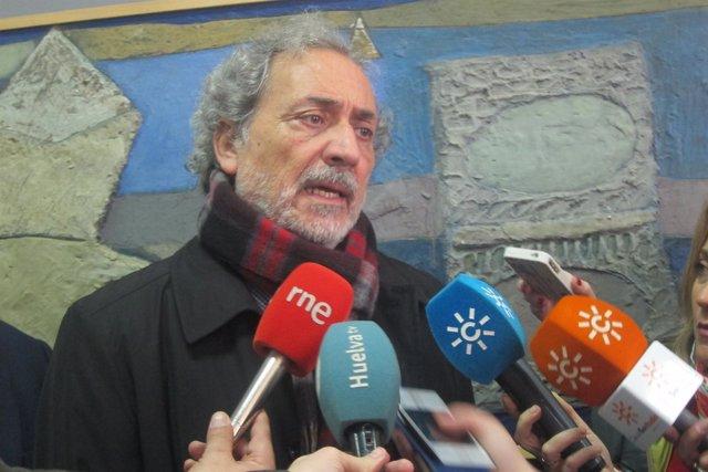 José Chamizo, en la UHU.