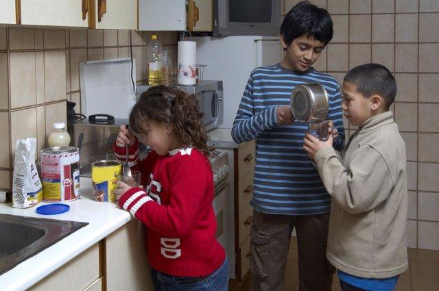 Pobreza infantil, viviendas de inclusión