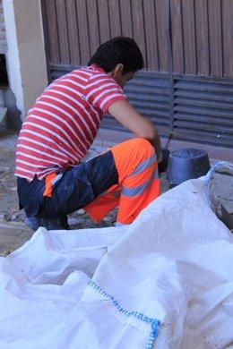 La construcción en Toledo, trabajo en Toledo