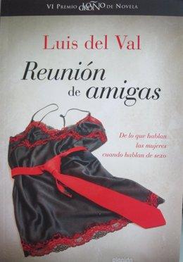 Portada de 'Reunión de amigas' de Luis del Val