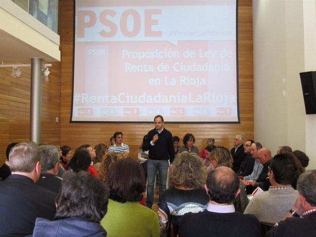 Luena presenta su Proposición de Ley de Renta de Ciudadanía de La Rioja
