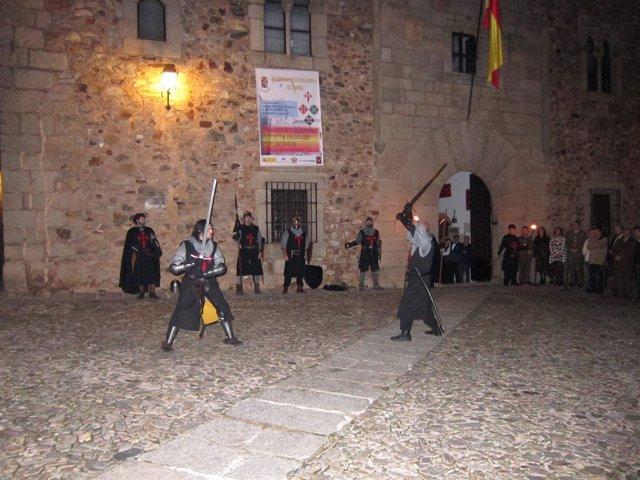 Exhibición De La Asociación Cultural Fratres De Cáceres