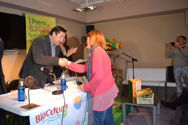 Pelegrí Premio escuela, agricultura y alimentación ecológica