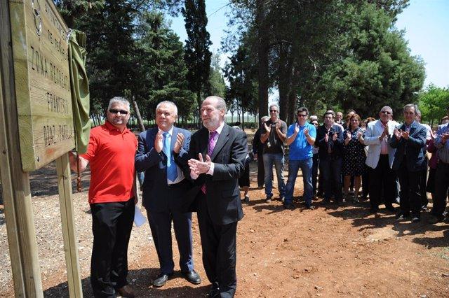 Inauguración del parque de Peñaflor