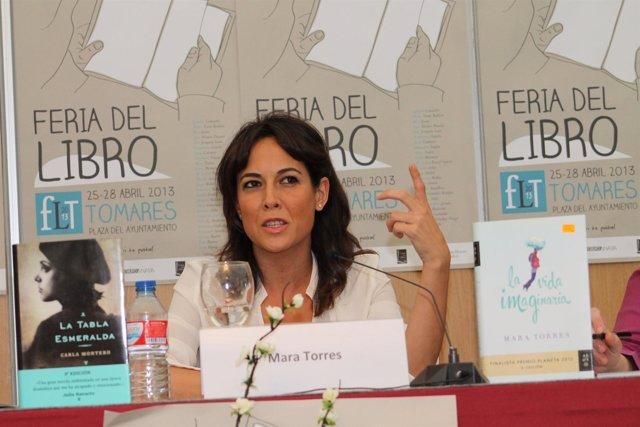 La finalista del premio Planeta, Mara Torres