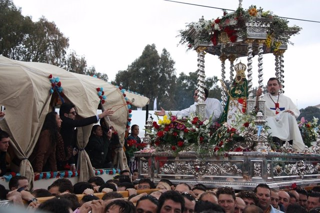 Procesión De La Virgen De La Cabeza De Andújar