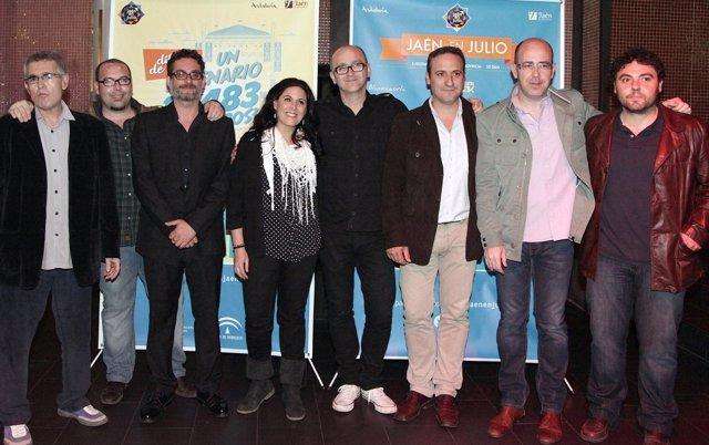 Presentación de 'Jaén en julio' en Madrid