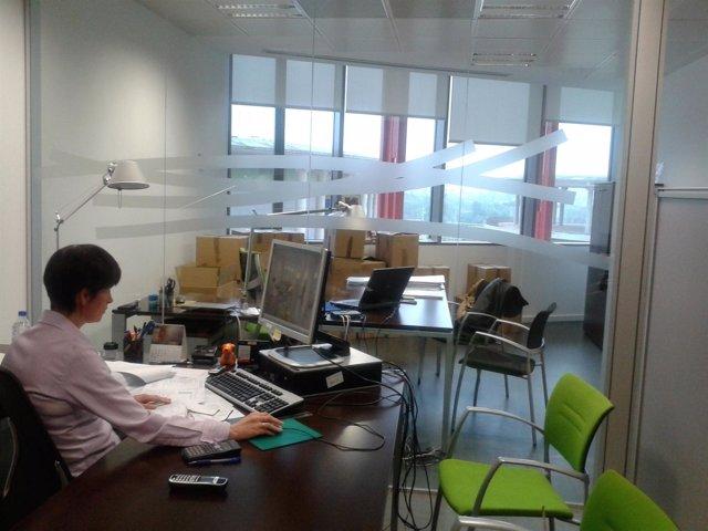 Nuevas oficinas de la Corporación Empresarial Pública de Aragón.