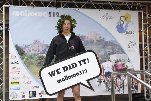 Joel Eglin, ganador de la Mallorca 312