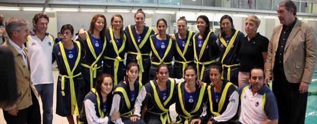 El CN Sabadell femenino, campeón de Europa