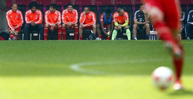Banquillo del Bayern Munich
