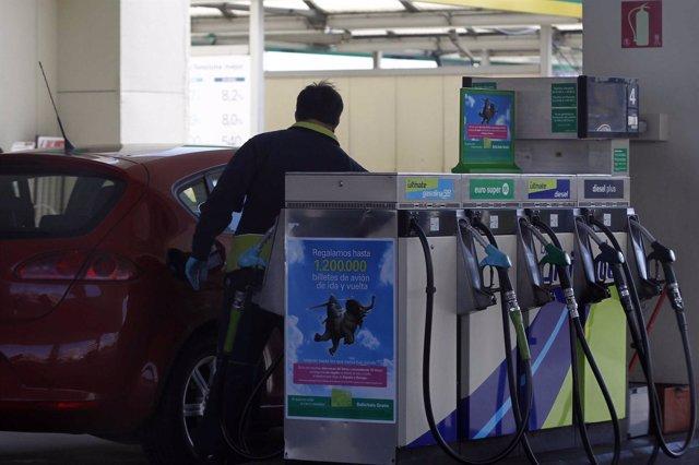 Gasolina, Gasolinera