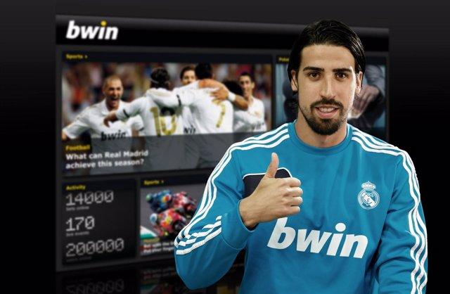 El jugador del Real Madrid Sami Khedira