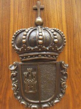 Escudo Cortes Castilla-La Mancha