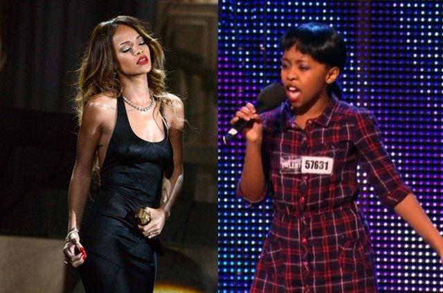 Rihanna y Asanda Jezile