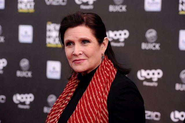 Carrie Fisher se prepara para volver a Star Wars