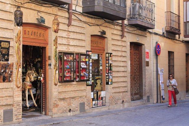 Pequeño comercio en Toledo, turismo y pequeño comercío, pequeños comercíos
