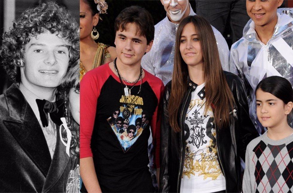 Hijos de Michael Jackson y el actor Mark Lester