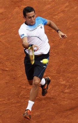 El tenista Nicolás Almagro