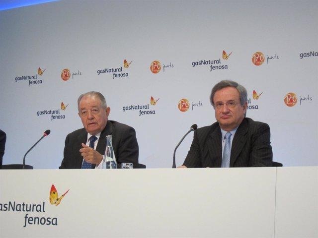 Salvador Gabarró y Rafael Villaseca