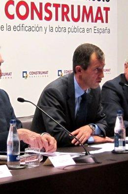 El Presidente De Construmat, José Miarnau