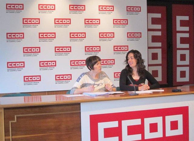 Rosa Eva Martínez (izquierda) y Luz María Bártulos (derecha)