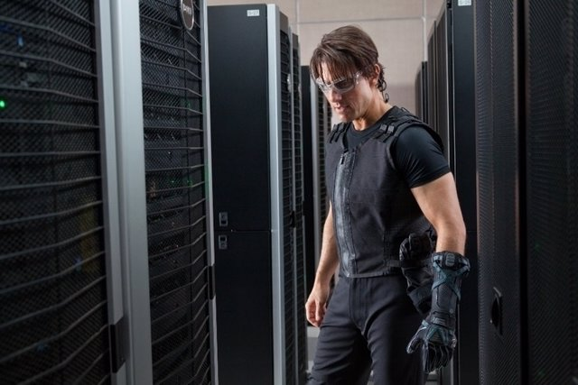 Tom Cruise en Misión Imposible 4 Protocolo Fantasma