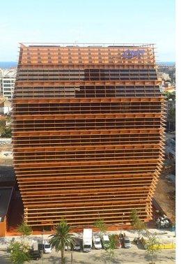 Edificio de la CMT en Barcelona