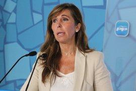 """Alicia Sánchez-Camacho tilda a Pere Navarro de """"tonto útil"""" y pide un pacto de PP-PSOE en defensa de la unidad"""