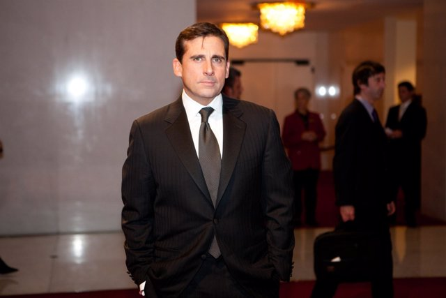 WASHINGTON - Comedian Steve Carrell arrives for the 12th annual Mar