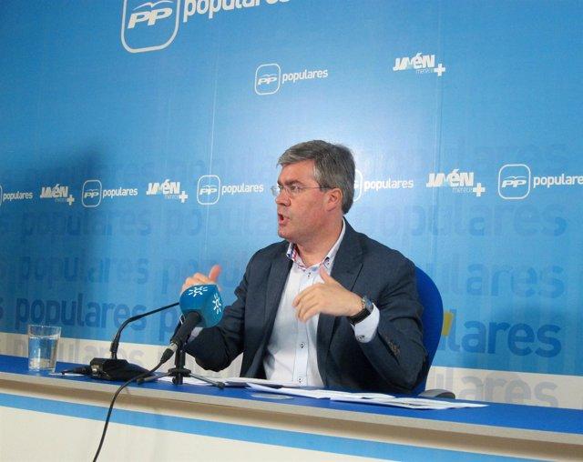 El presidente del PP de Jaén, José Enrique Fernández de Moya.