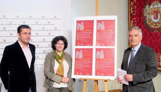 Presentación del I Festival de Música de Cigales