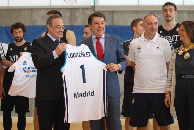 Ignacio González con Florentino Pérez