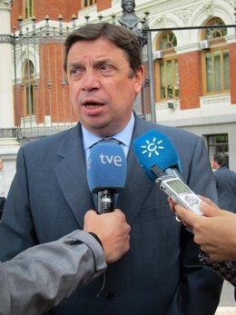 El consejero andaluz de Agricultura, Luis Planas
