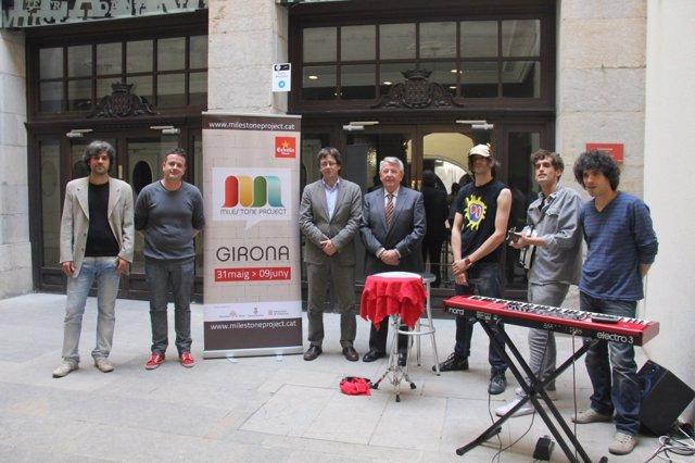 Presentación del Milestone Project de Girona