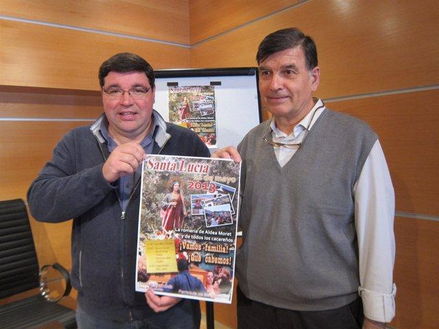 Los Párrocos Jesús Luis Y Miguel Ángel González De Aldea Moret (Cáceres)