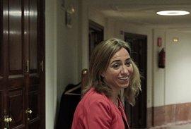 """Chacón evita pronunciarse sobre si hay fractura en el PSC e insta a """"todos"""" los socialistas a ponerse frente a Mas"""