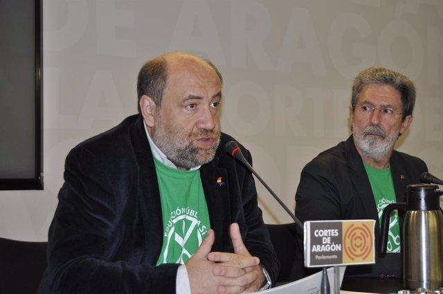 José Manuel Alonso y Adolfo Barrena