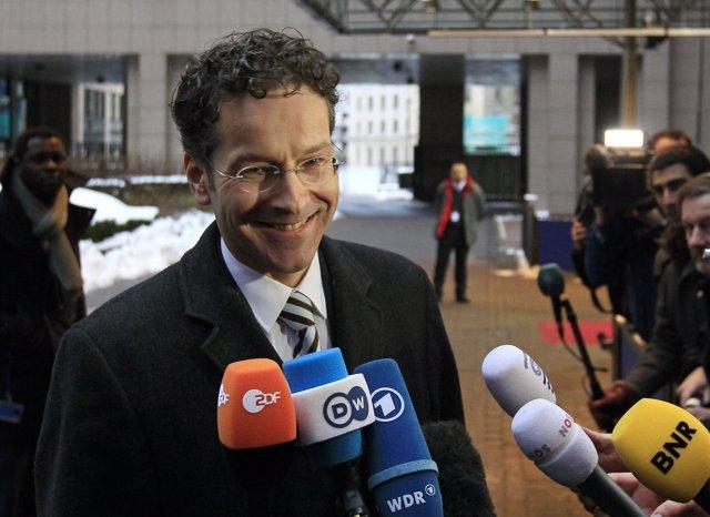 El ministro holandés de Finanzas, Jeroen Dijsselbloem